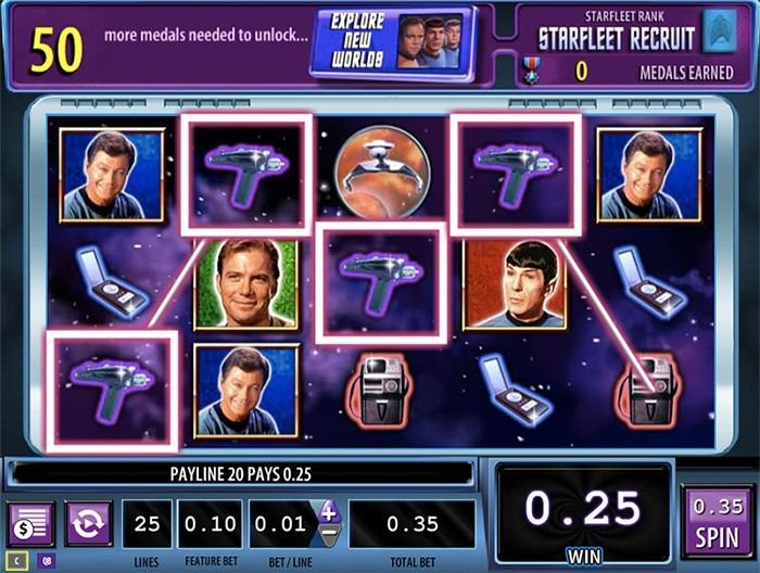 Играть в автомат Стар Трек