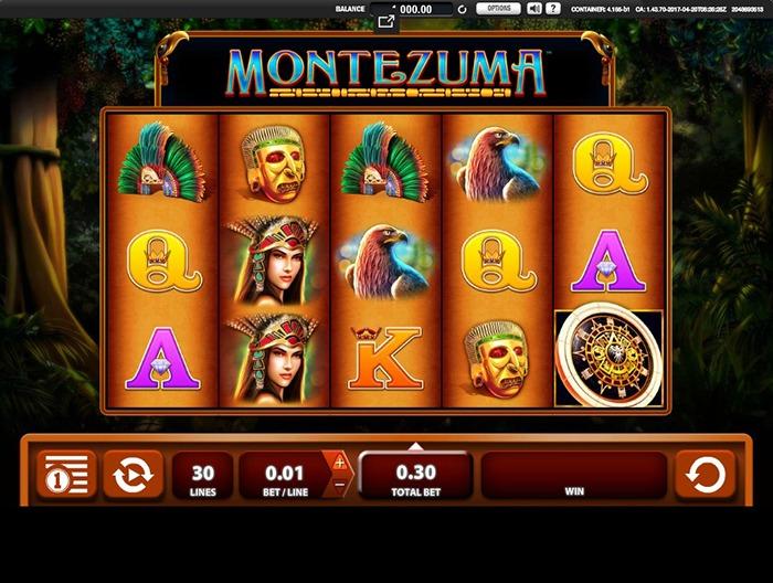 Играть в Montezuma