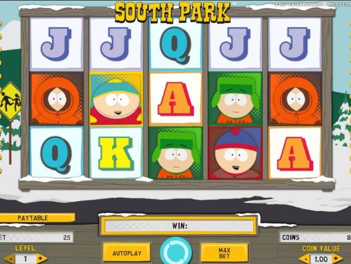Сыграть в Южный Парк