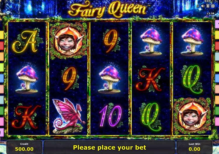 Играть в автомат Королева Фей
