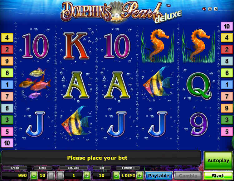 Дельфины Делюкс играть онлайн