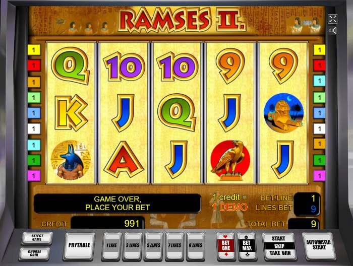 Играть в Ramses 2