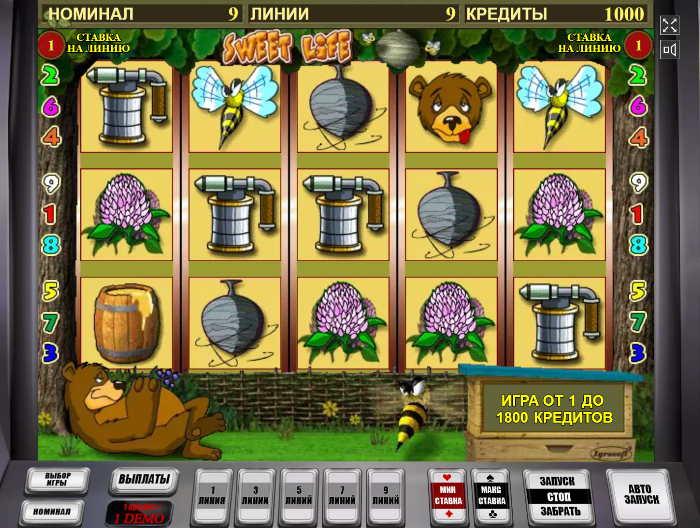 Игровой автомат Сладкая Жизнь