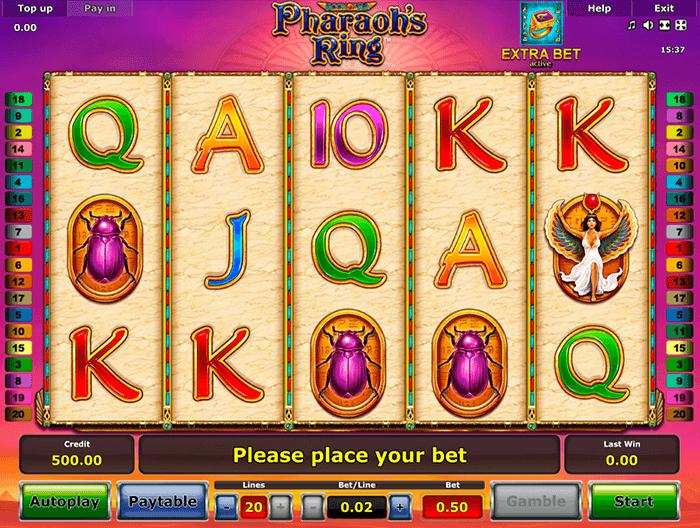 Игровой автомат Pharaohs Ring